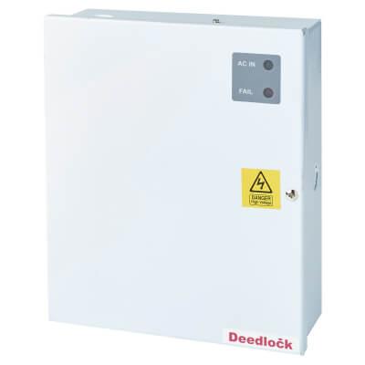 12v DC Regulated Boxed Power Supply - 1 Amp)