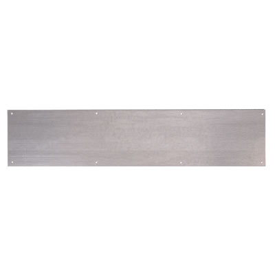 Kick Plate - 838 x 200 x 1.5mm - Galvanised Steel