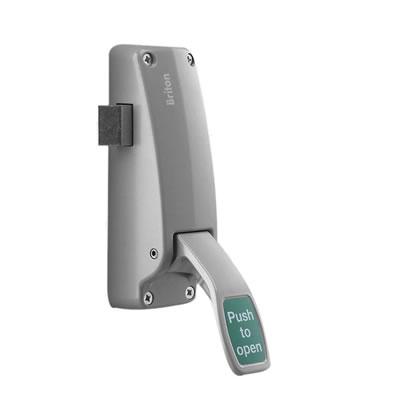 Briton 1438E Single Door Push Pad Latch)