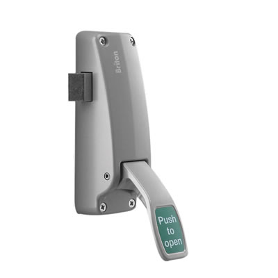 Briton 1438E Single Door Push Pad Latch