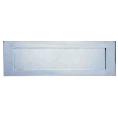 Altro Commercial Letter Plate - 305 x 128mm - Satin Anodised Aluminium