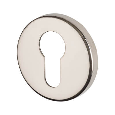 Altro Escutcheon - Euro - Polished Stainless Steel