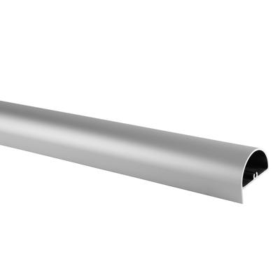 Designer Headrail - Satin Anodised Aluminium - 17-19mm Panels