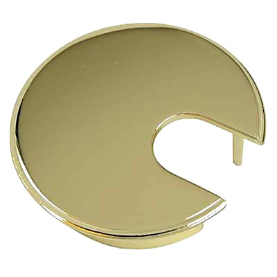 Metal Cable Tidy - 62mm - Polished Brass)