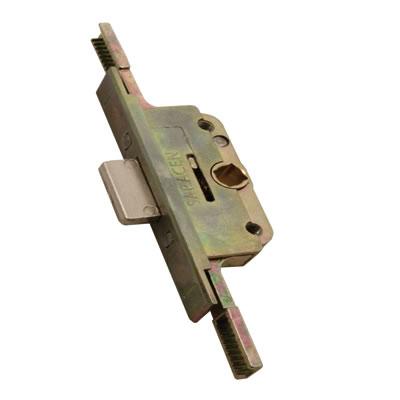 Aubi/Saracen UPVC Straight Window Lock Gearbox - 20mm Backset - 9.5mm Deadbolt