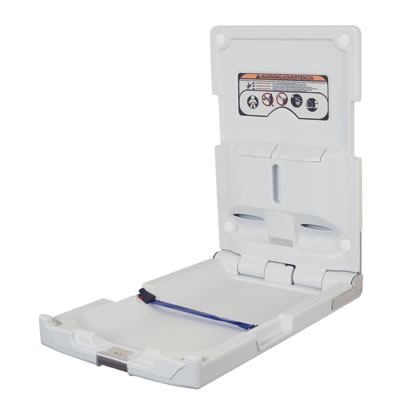 Baby Changing Station - Vertical - Plastic