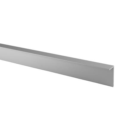 Premier Angled Headrail - Satin Anodised Aluminium - 17-19mm Panels