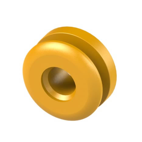 Button Fix Button for Euro Screws - Pack 100)