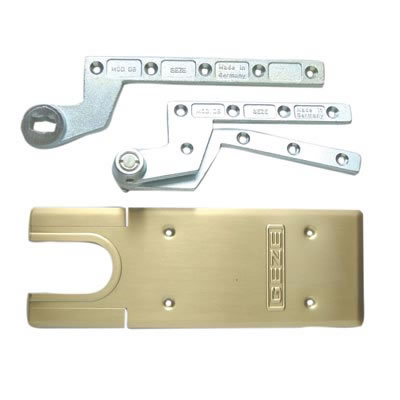 GEZE TS550NV Accessory Pack - Single Action - Polished Brass