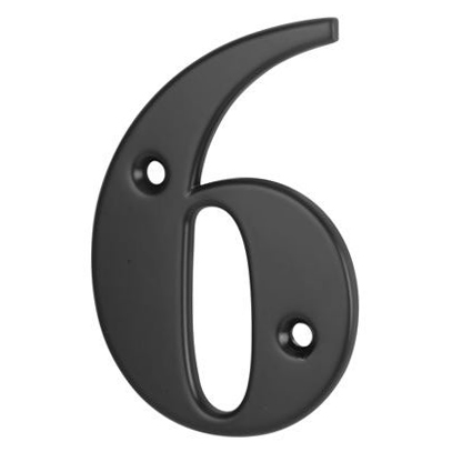 76mm Numeral - 6/9 - Black