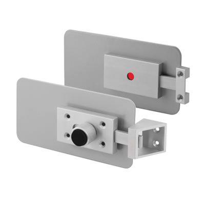 Repair / Replace Cubicle Indicator Bolt - 12-28mm Panels - Horizontal - Satin Anodised Aluminium