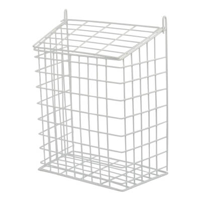 Letter Cage - 356 x 299 x 155mm - White Plastic Coated)