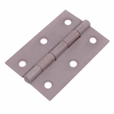 Steel Hinge - 75 x 50mm - Sheradised