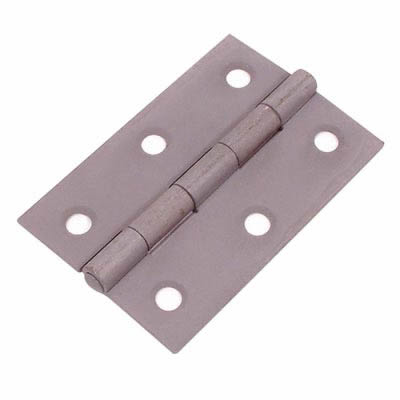 Steel Hinge - 75 x 50mm - Sheradised