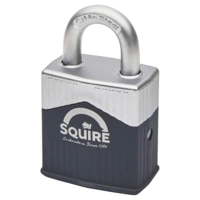 Squire Warrior Open Shackle Padlock - 45mm