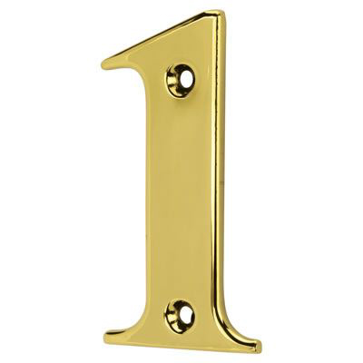 76mm Numeral - 1 - Gold
