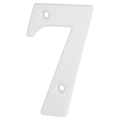 76mm Numeral - 7 - White