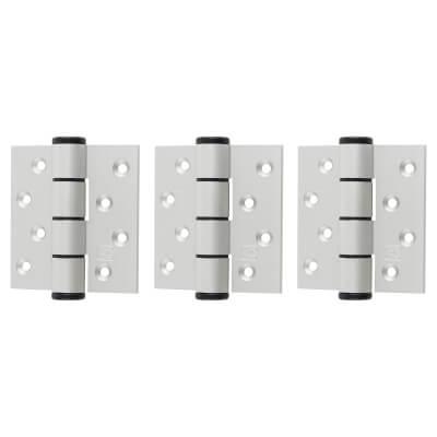 Barrier Vistafold 44mm Door Kit - 1 Door - Hinges Only - Silver)