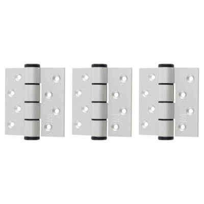 Barrier Vistafold 44mm Door Kit - 1 Door - Hinges Only - Silver