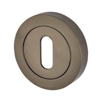 Touchpoint Escutcheon - Keyhole - Black Nickel