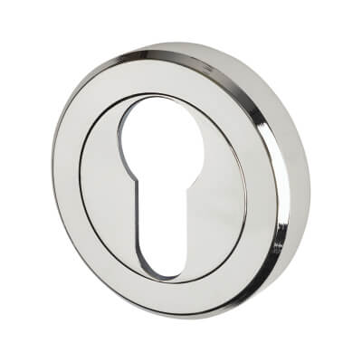 Carlisle Brass Escutcheon - Euro - Polished Chrome