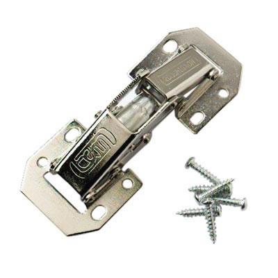 Easy-On Sprung Hinge - 106 x 41 x 24mm - Pair