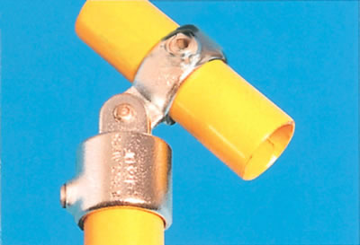 Combination Connector with Through Centre Tube - Single Swivel