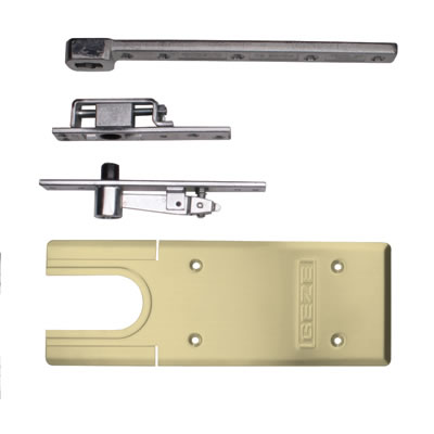 GEZE TS500NV Accessory Pack - Double Action - Polished Brass