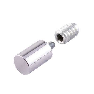 Rola Removable Egress Stop - Polished Chrome - Pack 10