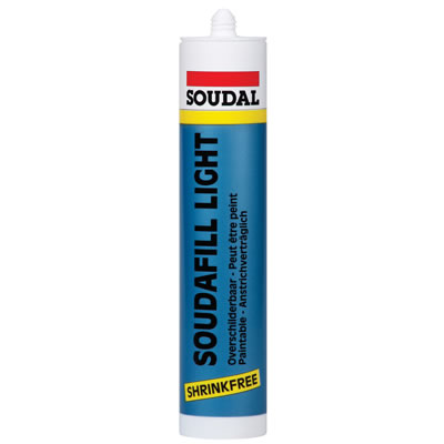 Soudal Soudafill Light - 310ml - White)