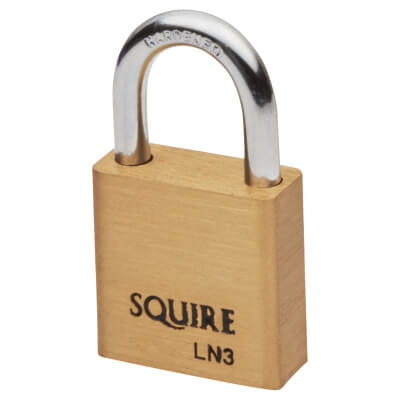 Squire Lion Open Shackle Padlock - 30mm