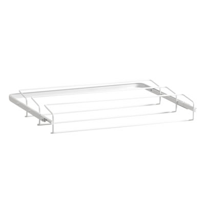 elfa® Gliding Shoe Rack - 605mm - White