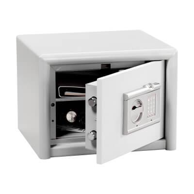 Burg Wächter CL 10 E FS Combi-Line Electronic Biometric Fire Safe - 320 x 435 x 380mm - Light Grey)