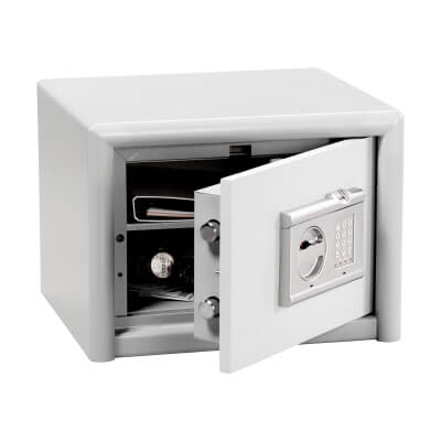 Burg Wächter CL 10 E FS Combi-Line Electronic Biometric Fire Safe - 320 x 435 x 380mm - Light Grey