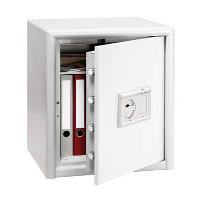Burg Wächter CL 40 E FS Combi-Line Electronic Biometric Fire Safe - 560 x 495 x 445mm - Light Grey)