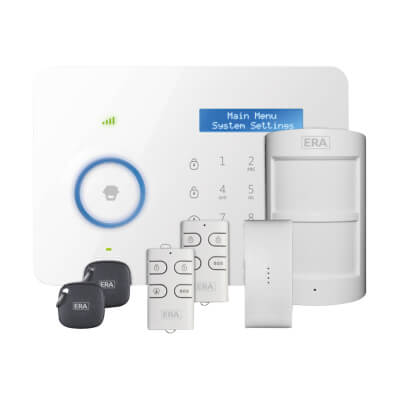 ERA® Invincible Smartphone Dual Network Communicating Alarm System with RFID)
