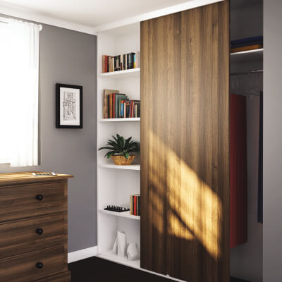 KLÜG Single Top 30 Sliding Door Track - 3000mm
