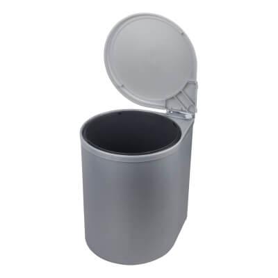 Automatic Bin - 13L - Grey Plastic)