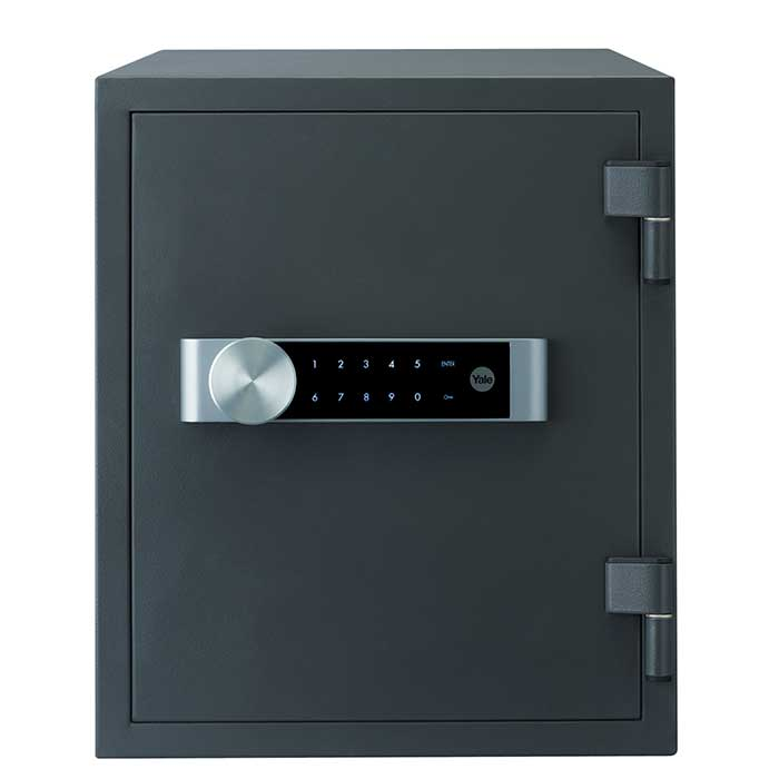 Yale® Large Fire Safe - 420 x 352 x 433mm - Grey)