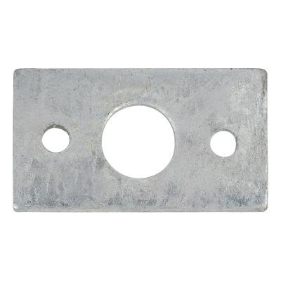 Spare Keep - Flat - 14mm Bolt - Zinc Plated