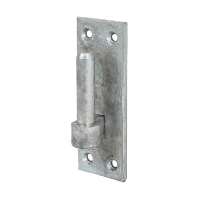 Medium Duty Hook On Plate - 12mm Pin - Galvanised