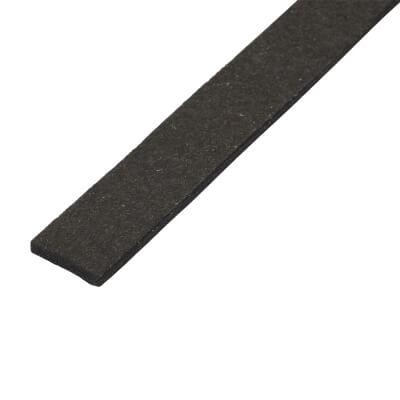 Sealmaster Fire Rated Glazing Tape - 15 x 3mm x 10m - Black)