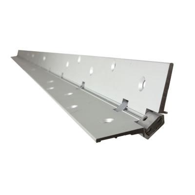 Norsound Continuous Hinge - 2100 x 87 x 2.5mm - Aluminium)