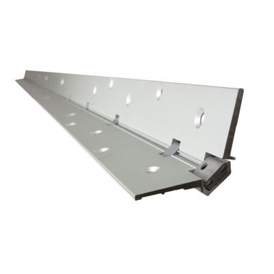 Norsound Continuous Hinge - 2100 x 87 x 2.5mm - Aluminium