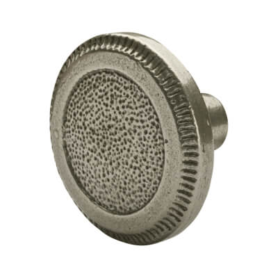 Crofts & Assinder Pip Cabinet Knob - Round - 50mm - Cast Iron
