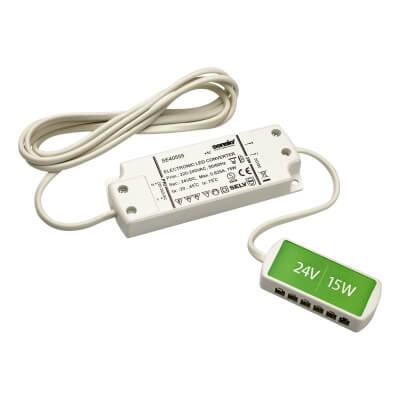 Sensio LED Driver - 15W/24V - 6 Port LED Block)