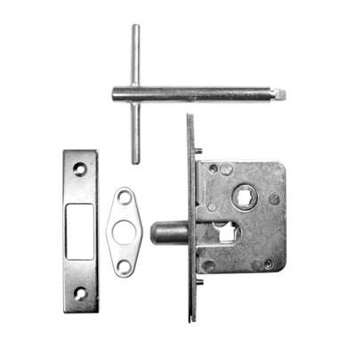 Jedo Budget Lock, Key and Escutcheon - Mortice