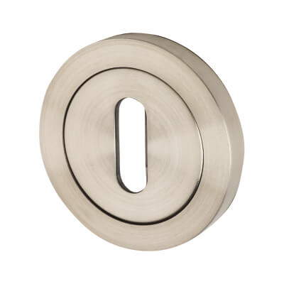 Steelworx Stainless Steel - Escutcheon - Keyhole - Satin Stainless