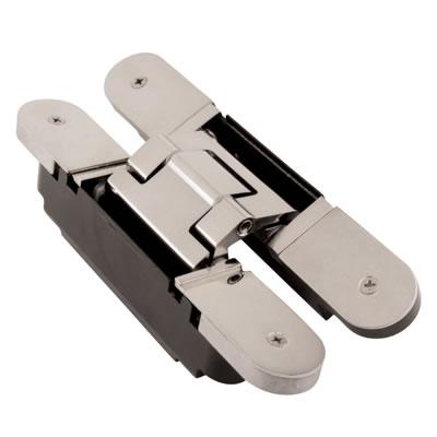 Simonswerk Tectus TE340 3D Hinge - 160 x 28mm - F1 Matt Chrome - Pair