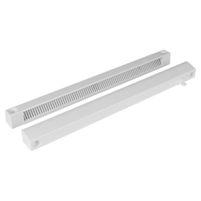 Slotvent 3000 S With Front Operation Switch - White - uPVC / Timber )